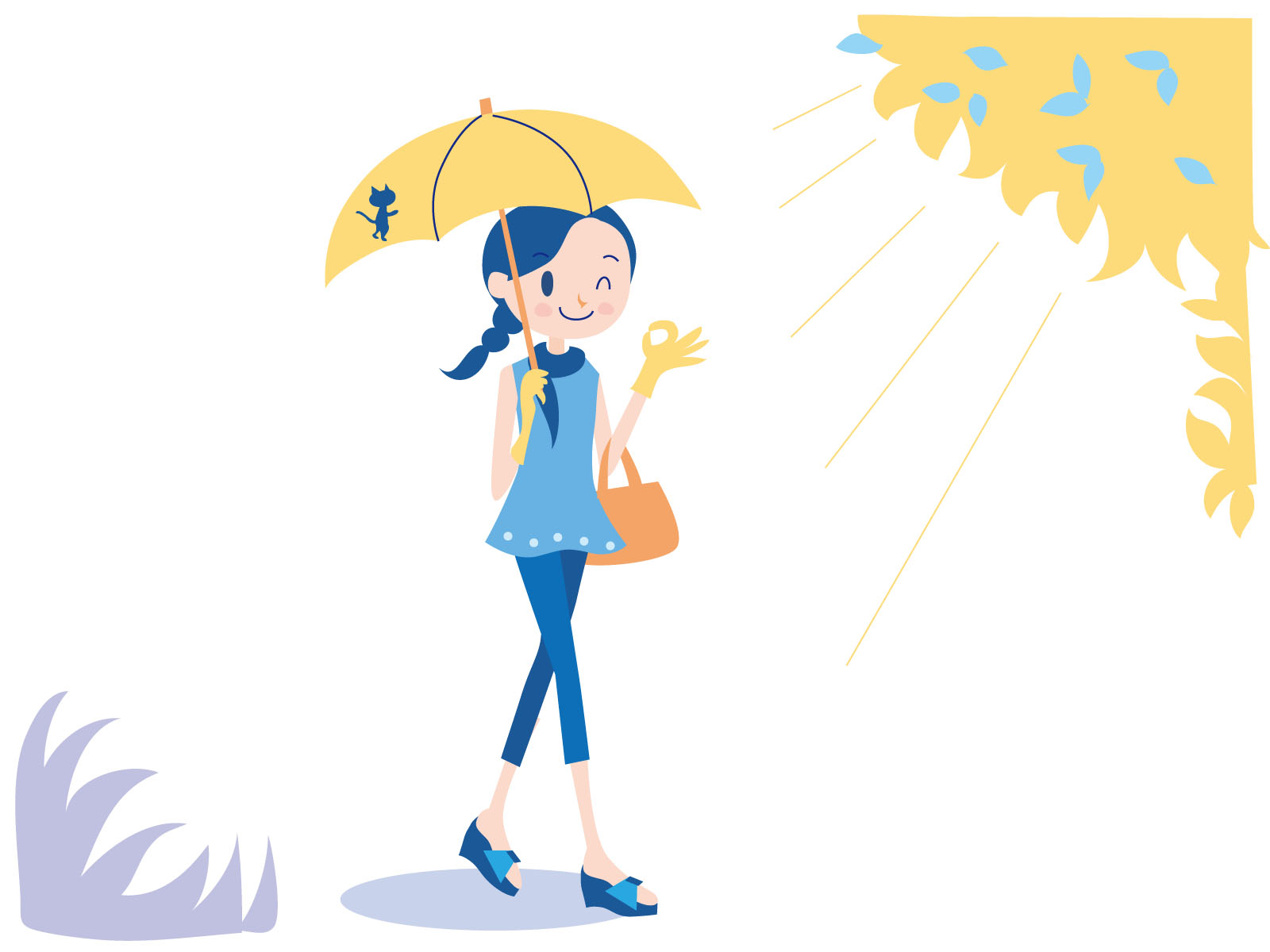 【日傘の寿命】UVカット効果は何年もつ?買い替えどきは?おすすめの日傘も紹介