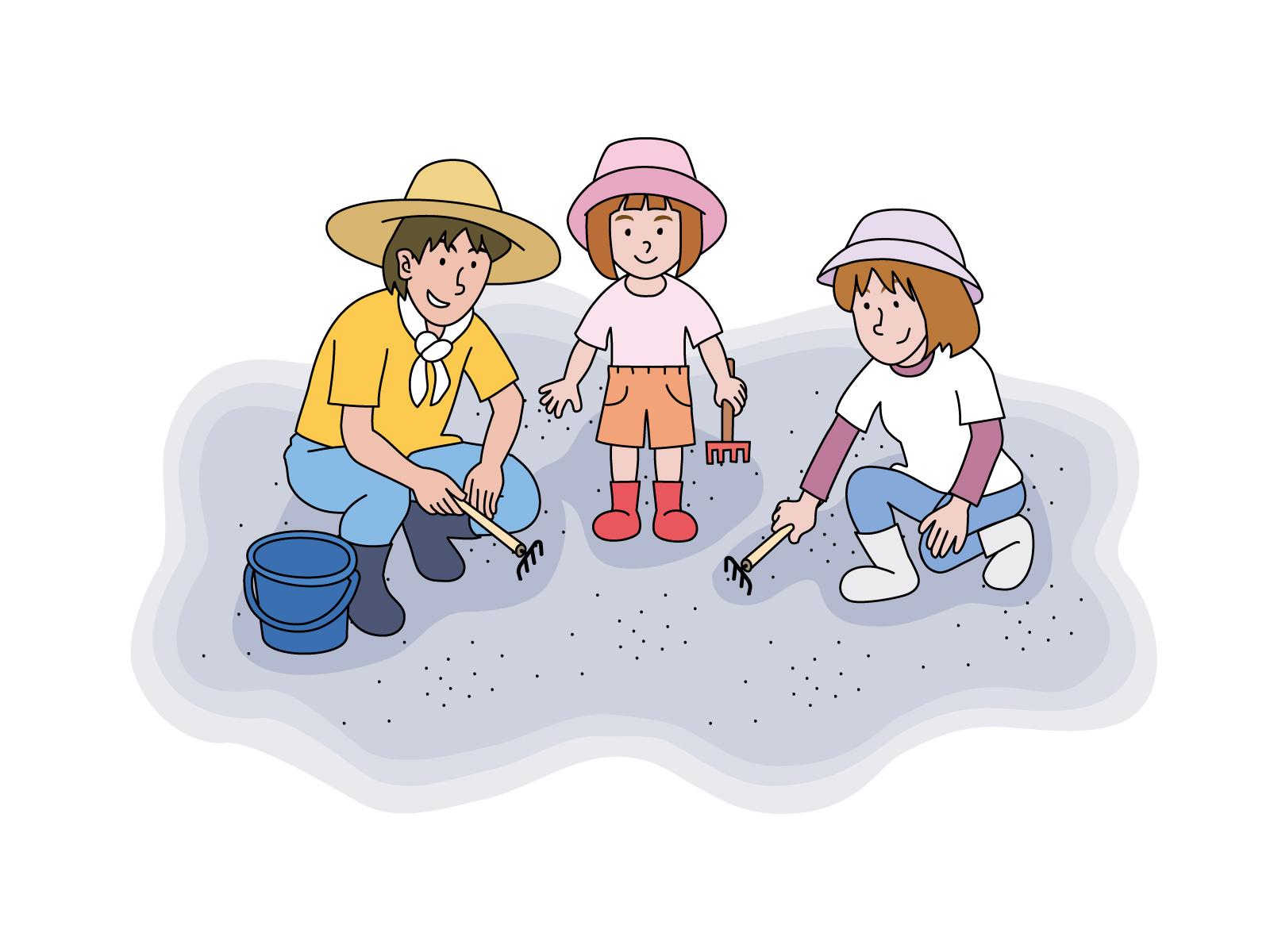 【潮干狩りの貝】漁師が養殖アサリ(中国産)を撒いている!?その理由&天然は存在する?