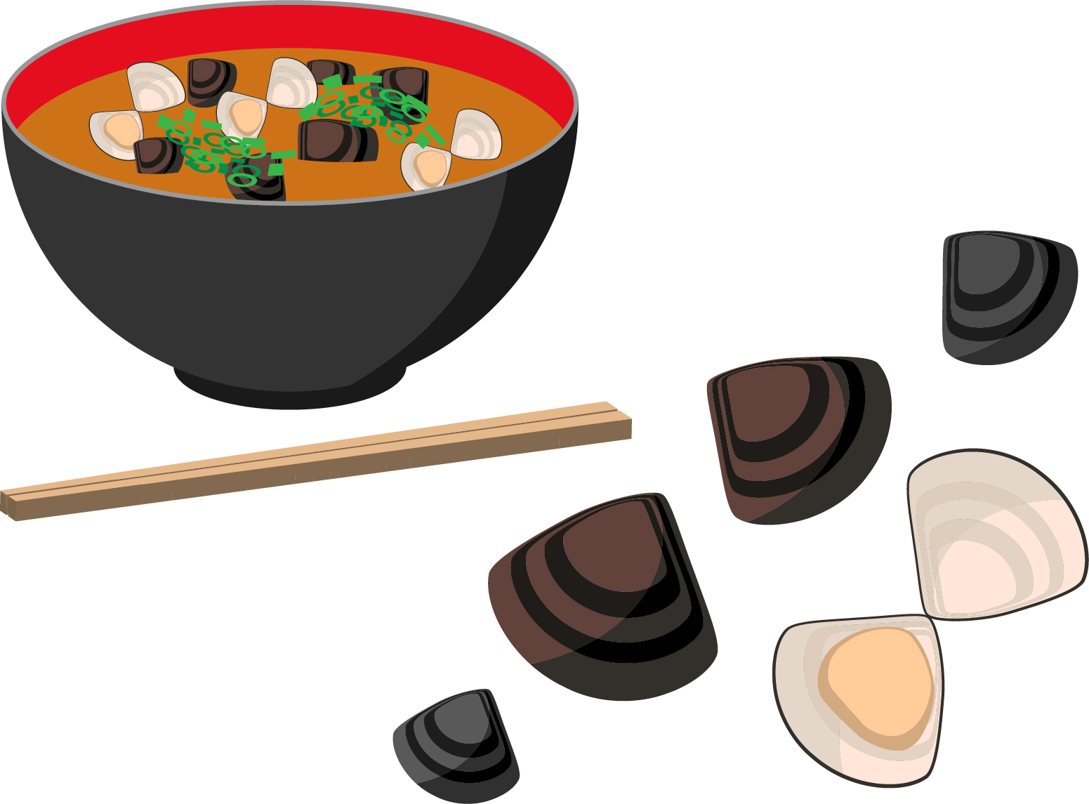 【しじみ汁の食べ方マナー】身は食べない方がよい!?アサリなどの他の貝料理についても!